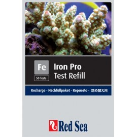 IRON PRO TEST REFILL - RED SEA